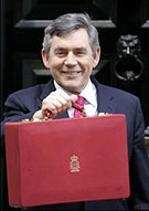Image:  Chancellor Gordon Brown